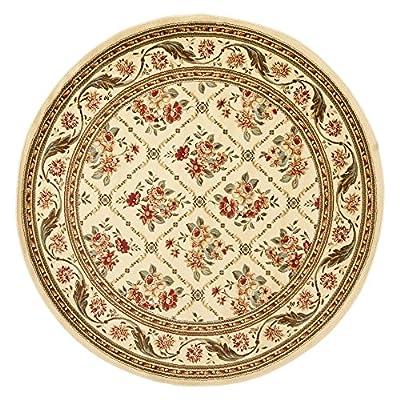 Safavieh Lyndhurst Collection LNH556-1212 Traditional Floral Trellis Ivory Area Rug