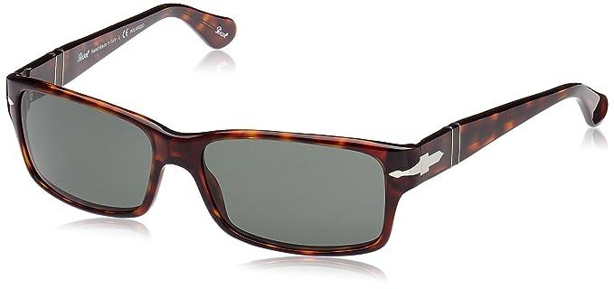 1479c413e4d2c Persol Men s Polarized PO2803S-24 58-58 Tortoiseshell Rectangle Sunglasses