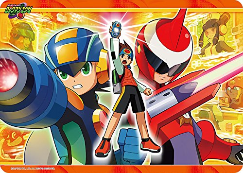 Mega Man Man Battle Network Card Game Character Rubber Play Mat Collection Anime Art