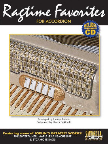 (Ragtime Favorites for Accordion with Performance CD)