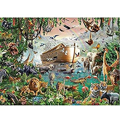 PTTPTT Learning Cognition Animal World Genuine 4000 Pieces Hard Puzzle Animal World Noah's ark Adult Puzzles Wooden Puzzle 86118cm Intellectual Toys: Home & Kitchen
