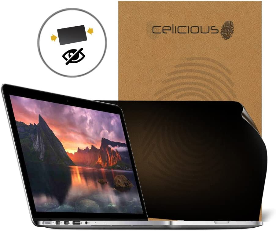 2008 Celicious Film de Protection Brillant et Invisible Vivid pour /écran HD Compatible avec Apple Macbook Air 13 A1237 Lot de 2