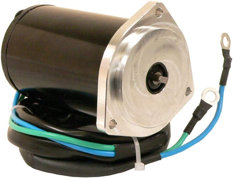 DB Electrical TRM0060 Tilt Trim Motor for Yamaha 1995-2001 40/50 HP Short Shaft, Black and Silver