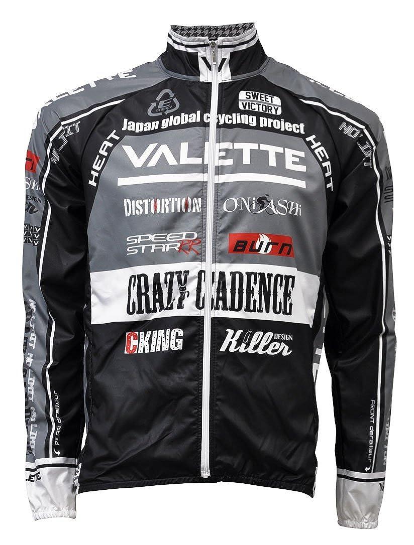 (バレット)Valette A-line Speedウインドブレーカー L グレー B00O0MDRU4
