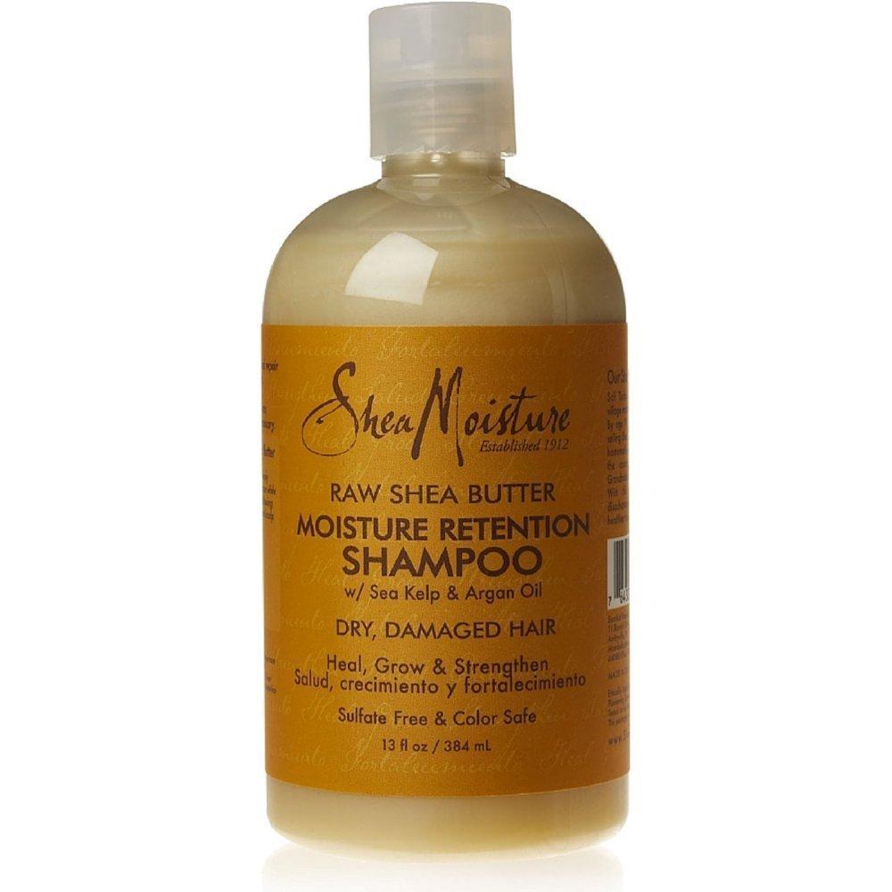 Amazon Shea Moisture Raw Retention Shampoo 13 Oz Hair Shampoos Beauty