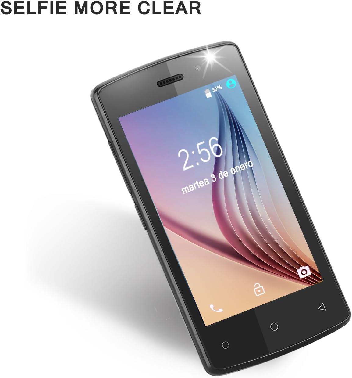 7 paso París 4 Inch Smartphone Negro color: Amazon.es: Electrónica