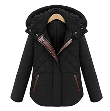 Pandamum Womens Winter Coat Jacket Quilted Jacket Abrigo de INVIERNO LAS Mujeres,Chaquetas Mujer INVIERNO