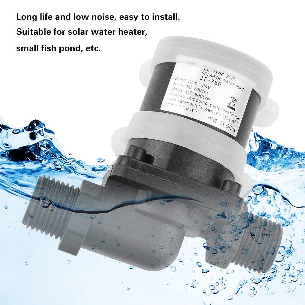 Mini bomba de agua, Mini DC bomba de agua sin escobillas para estanques de peces pequeños DC24V (-40 ℃ ~ 100 ℃): Amazon.es: Bricolaje y herramientas