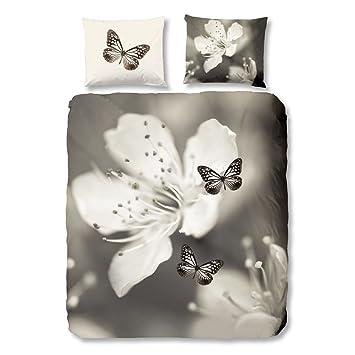 5143-P Nature bettwäsche mit Herzen 200x135x0.5 cm Good Morning Multi Colour 100% Baumwolle