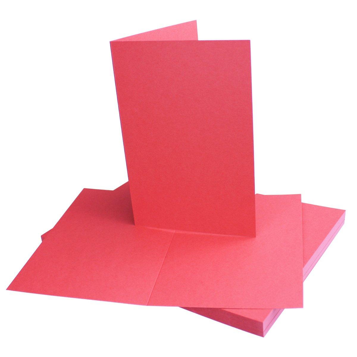 250x Falt-Karten DIN A6 Blanko Doppel-Karten in Hochweiß Kristallweiß -10,5 x 14,8 cm   Premium Qualität   FarbenFroh® B078TFFMFG | Passend In Der Farbe