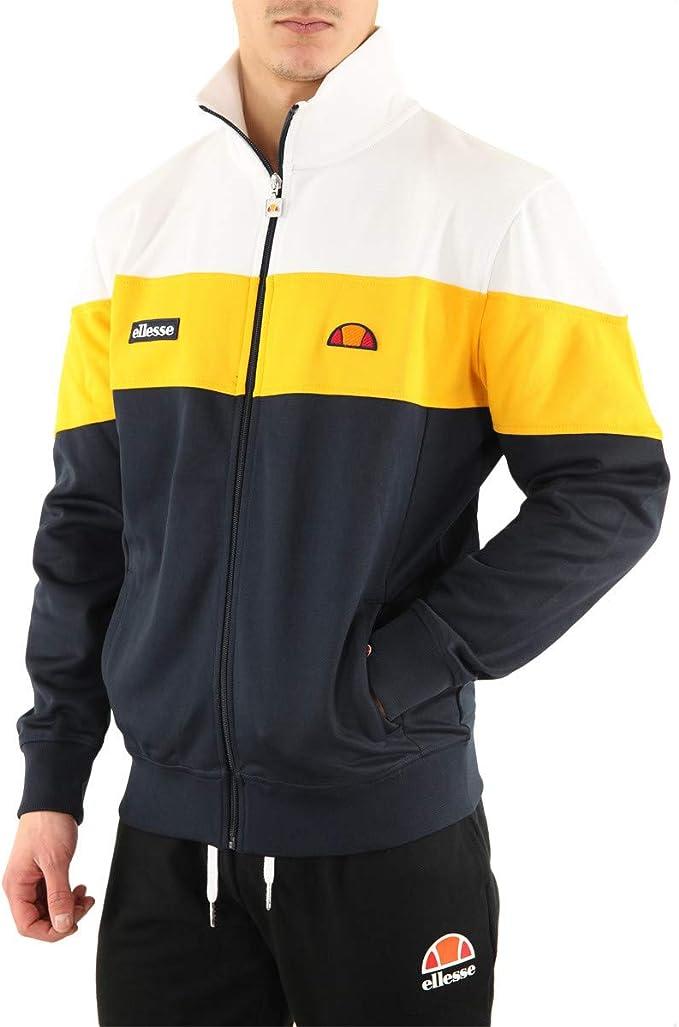 ellesse jacke schwarz gelbb