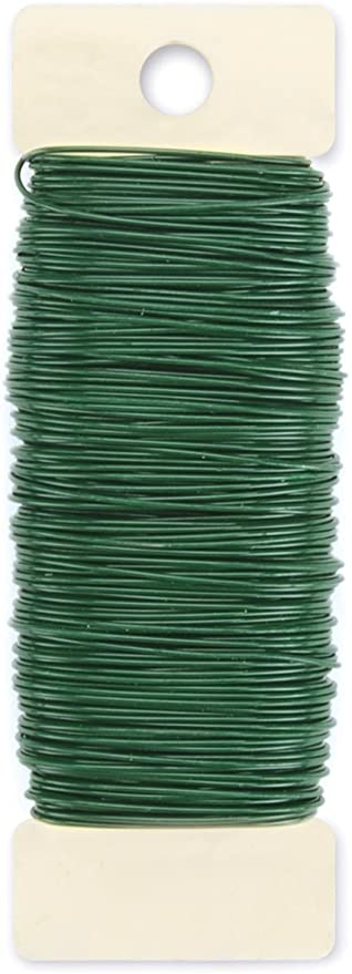craft wire in bright colors com-four/® 4X flower wire per 45 meters decorative wire for handicrafts binding wire /Ø 0.36 mm Color mix flower wire for flower arrangements
