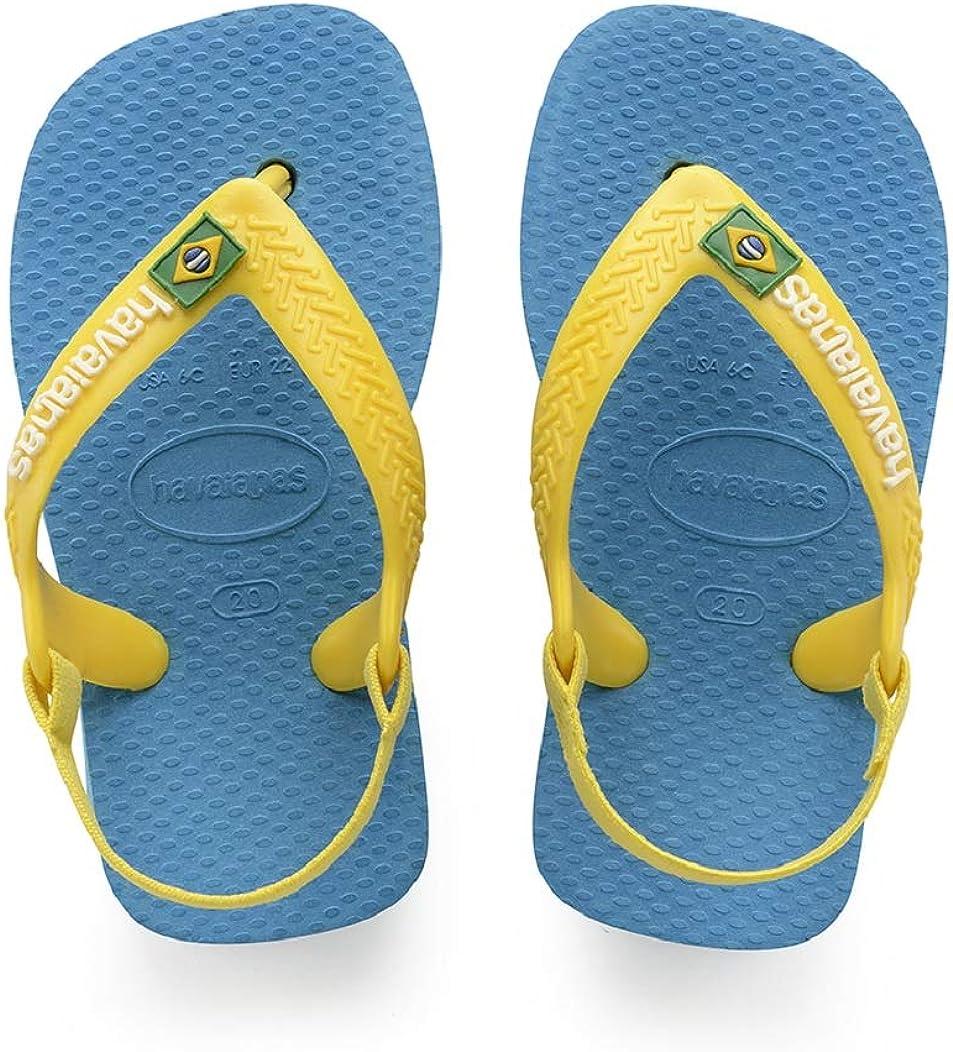Havaianas Baby Brasil Logo II Sandalias Unisex Ni/ños