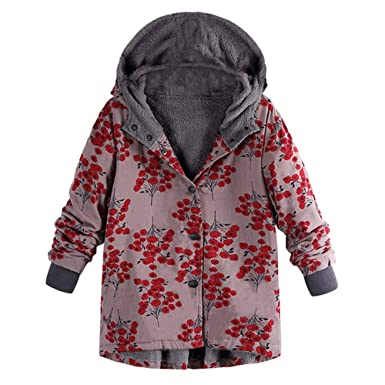POLP Abrigos mujer Casual Sudadera con Capucha Chaqueta de Lana Capa Jacket Parka Pullover Artificial Chaqueta