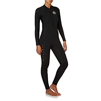 71ba896016 RIP CURL Ladies G-Bomb 2mm Front Zip Wetsuit Black - Easy Stretch ...