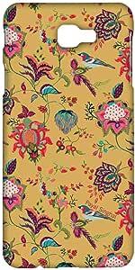Macmerise Payal Singhal Chidiya Mustard Sublime Case For Samsung J7 Prime