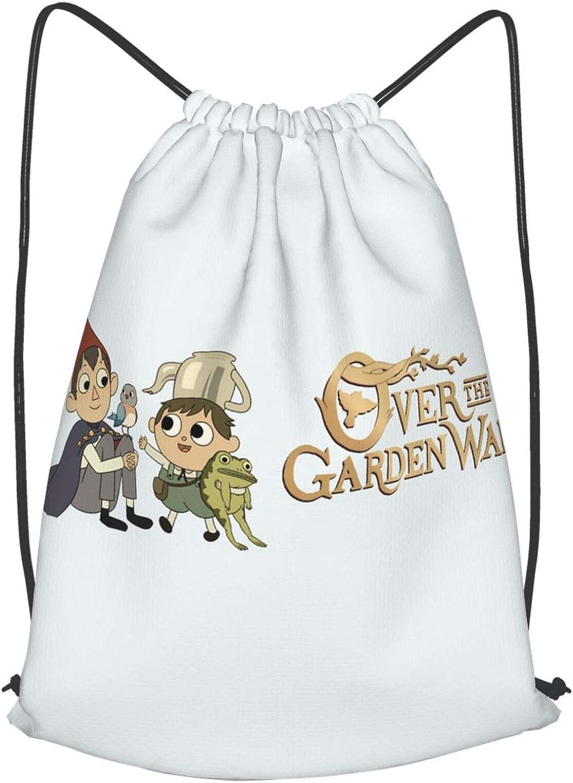 Over The Garden Wall Drawstring-Backpack Bulk Large Drawsting Bag Kids Drawstring Backpack String Bag