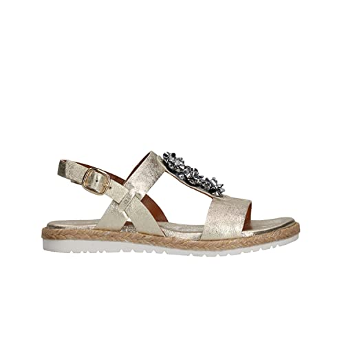 819e391da35d6b Keys Sandali Scarpe Donna Platino 5881: Amazon.it: Scarpe e borse