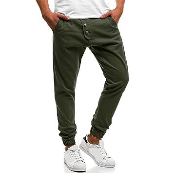 Yoga deportivo para hombre, talla única, pantalones de chándal ...