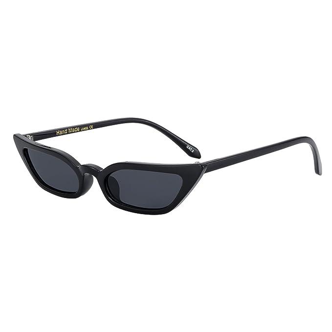 Amazon.com: WOWSUN Gafas de sol vintage con ojo de gato para ...