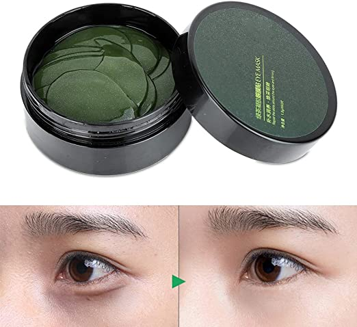 yuyte Máscara de Ojo de té Verde, Parche hidratante para los Ojos ...