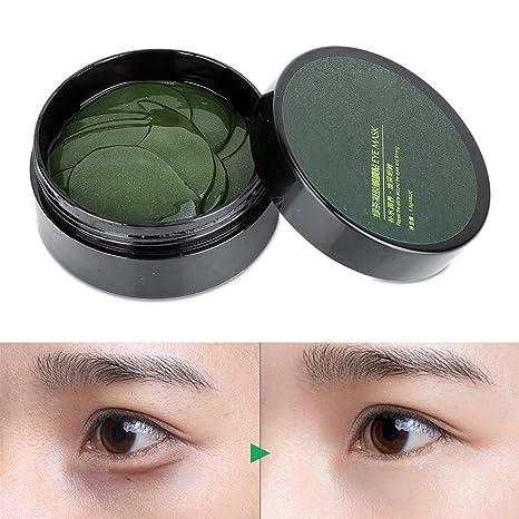 yuyte Máscara de Ojo de té Verde, Parche hidratante para los ...