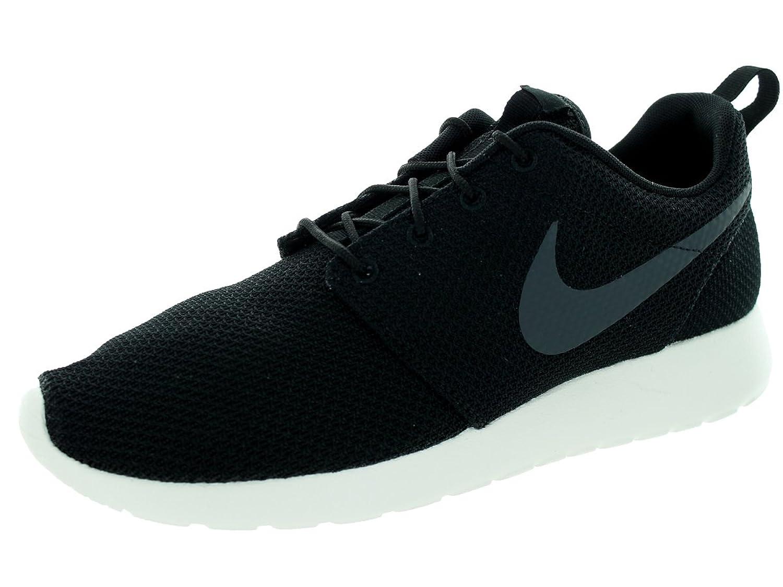 Nike Roshe Correr Para Hombre Entrenadores Antracita Gris Cocina Roja lp9in