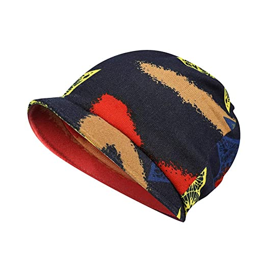 1d0a8e3c4a5 WUAI Knit Hats for Adults 1950s Retro Winter Wool Beanies Warm-up Skull Cap  Ski