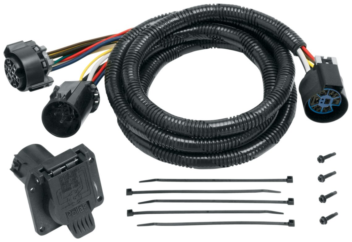 61rtDXj0iLS._SL1139_ amazon com reese towpower 20110 fifth wheel adapter harness fifth wheel wiring harness at gsmportal.co