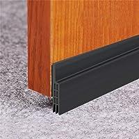 Door Draft Stopper, Door Sweep for Exterior/Interior Doors, Under Door Seal Under Door Draft Blocker, Soundproof Door…
