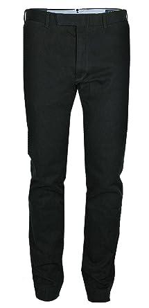 07fdb419e4c4a0 Ralph Lauren Polo Herren Chino Hose Slim FIT Black Tailored (W34 L32 ...