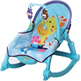 Little Pumpkin- Kiddie Kingdom Rocker (Sky Blue)