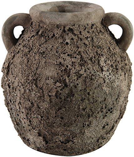 Amphore Vase LARISSA Gris 17 cm (d749692) Décoration de jardin Vase Pot De Plantation: Amazon.es: Jardín