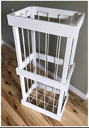 Amazon Com Cerise Wood Designs Stuffed Animal Cage Toy Storage