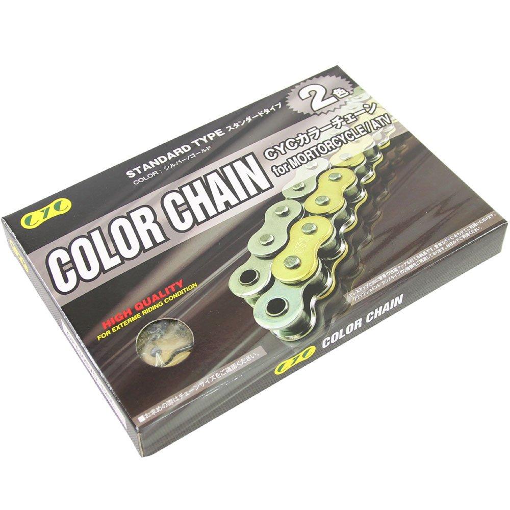 CYC カラーチェーン 525SVO 120L ゴールド シールチェーン T03Z9990035GL   B011KLC92Y