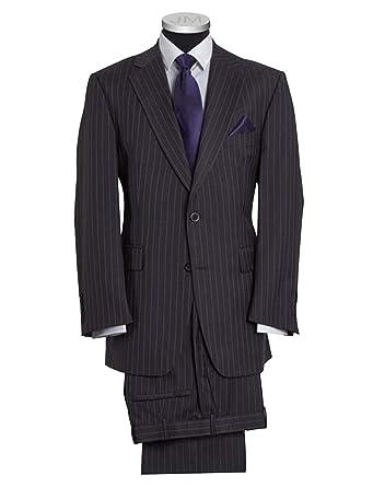 P&G Hombre Vestido a Rayas Traje Ajustado Corte Dos Botones ...