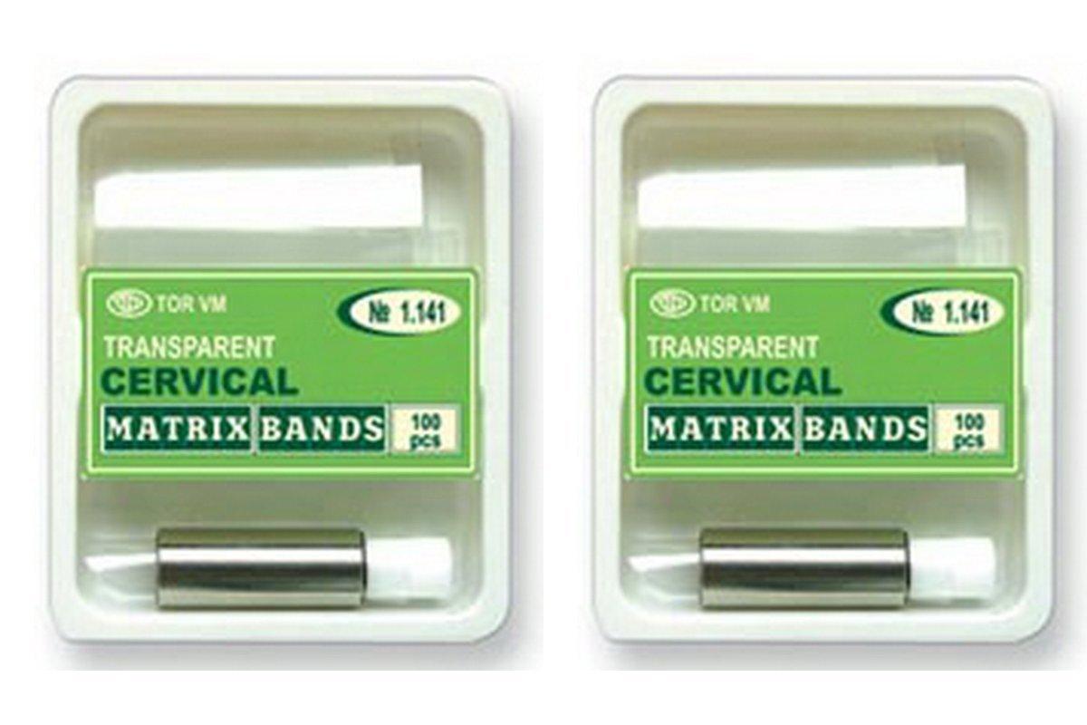 Lot x 2 Dental Strips Crown Clear Transparent Cervical Matrices Matrix