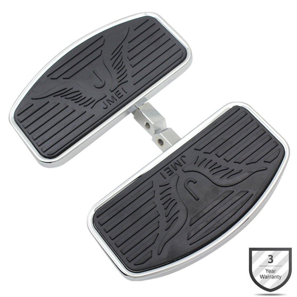 Motorcycle Floorboards Foot Pegs For Honda VTX1300 VTX1800 Suzuki VL400 VL800 C50 Footboard Front/Passenger Pair