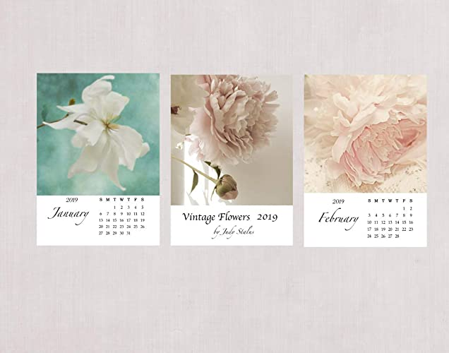 5x7 February 2019 Calendar Amazon.com: 2019 Vintage Flower Desk Calendar, 5 x 7: Handmade