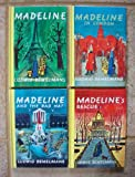 Set of 4 Madeline Books (Madeline ~ Madeline's Rescue ~ Madeline in London ~ Madeline and the Bad Hat)
