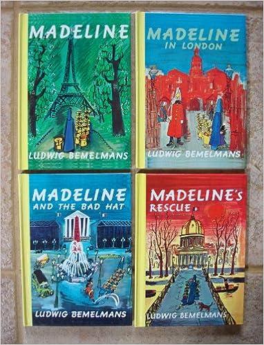 Set of 4 Madeline Books