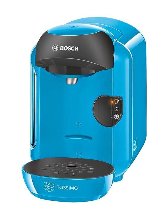 Bosch Tassimo Multibebidas automática TAS1255, 1300 W, 0.7 litros, Plástico, Azul