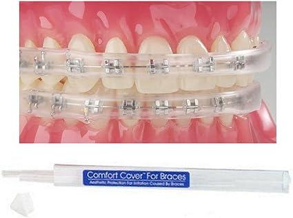 Amazon Com Comfort Lip Shield Mouth Guard For Braces