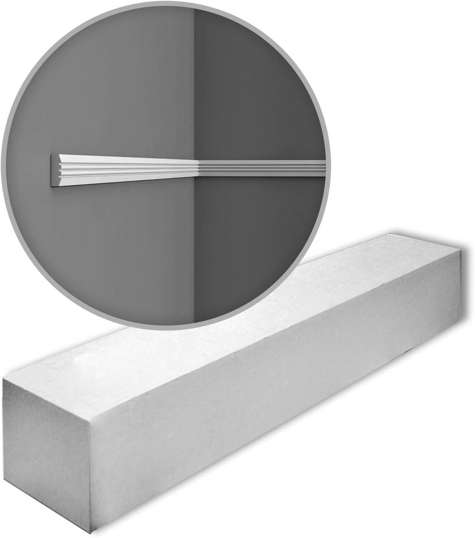 Orac Decor P5021 LUXXUS 1 Box 50 Pieces Cornices Mouldings 100 m