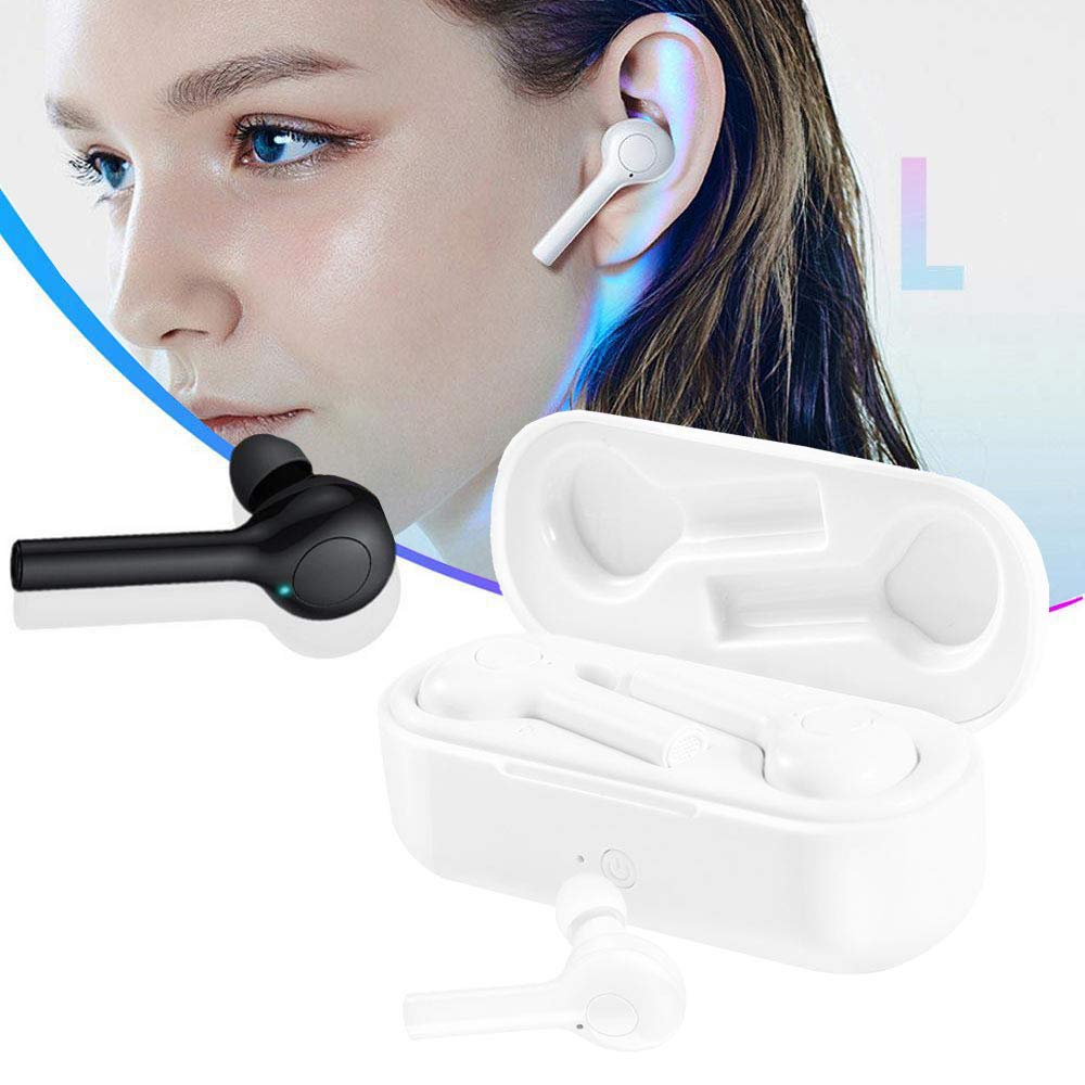 Foonee Translator Earbuds, Language Translator Headset, 33 Languages, 2 in 1 in-Ear Instant Voice Language Translator Headphones, Noise Canceling Wireless Earbuds Suitable for iOS & Android (White) by FOONEE