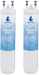 WATEN H2O ULТRAWF Compatible Refrigerator Water Filter Replacement Pure Source Ultra/9999 White -(2-Pack