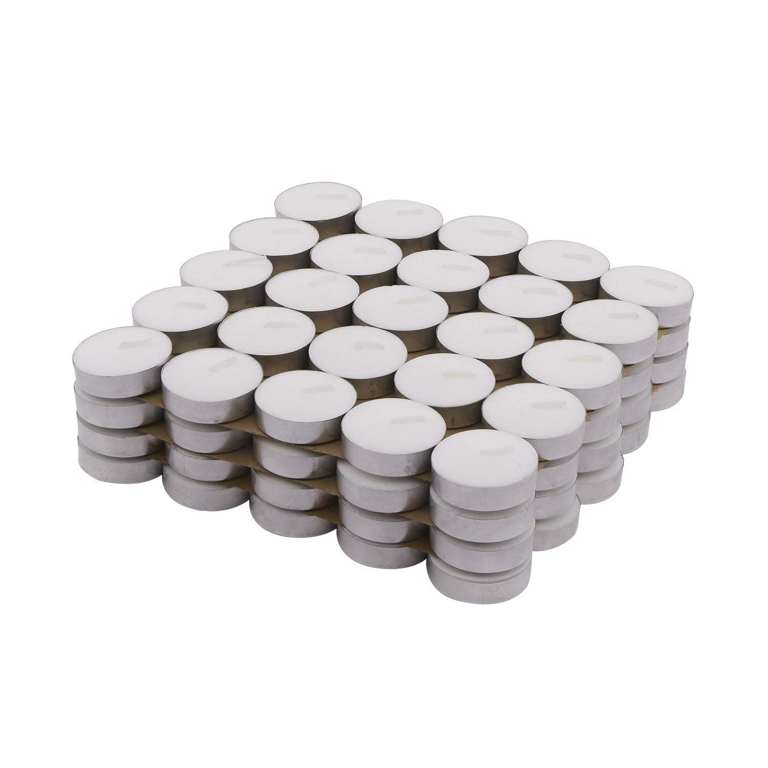 Tealight Smokeless Unscented Candles (pack of 10)
