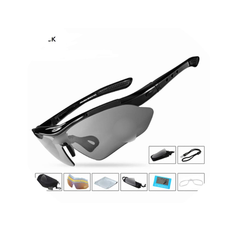 Flower falling Glasses Polarized Sports Men Outdoor Sunglasses Goggles Sport Riding Eyewear Bicycle Glasses Bike 5 Lenses