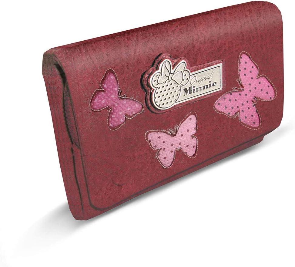 Marfly Rouge 16 cm Karactermania Minnie Mouse Marfly-billetero Sweet Largo Porte-Monnaie