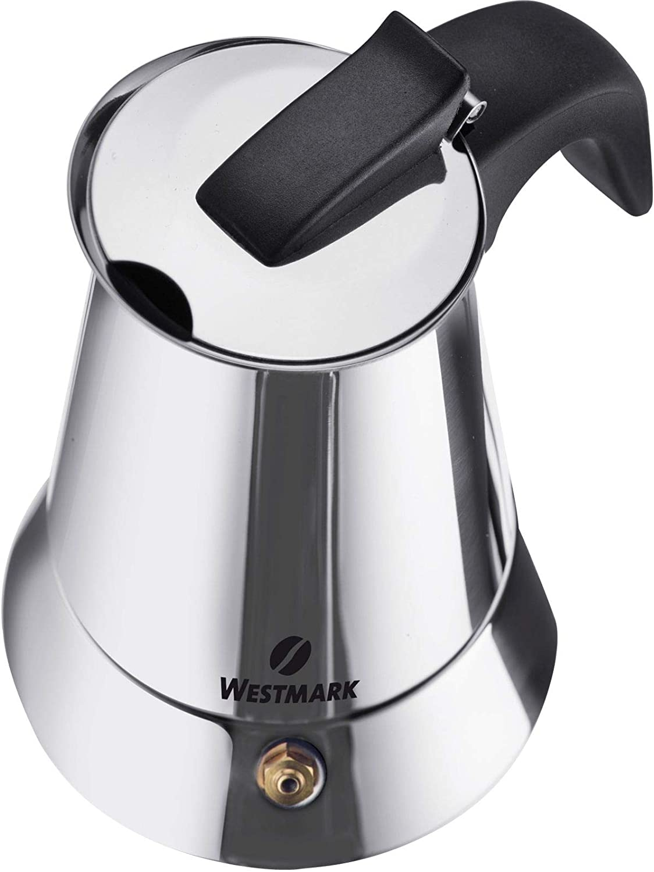 Westmark 24682260 Brasilia Plus - Cafetera italiana (acero ...